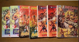 Komik Mahabarata & Baratayuda komplit series 7 buku