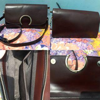 Sling Bag + FREE tas laptop