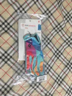 Specialized Women's Grail Long Finger Gloves TurquoiseGeoFade