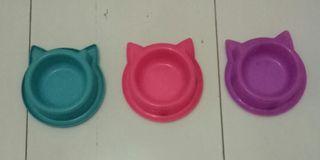 Tempat Makan Kucing Rp. 10.000 dapat 3pcs