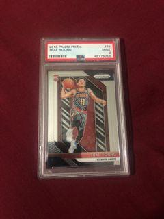 TRAE YOUNG RC PRIZM PSA 9