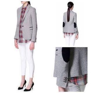 Zara dark gray blazer