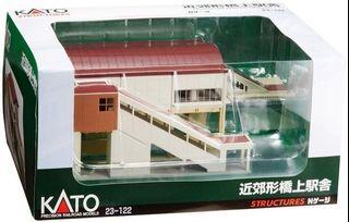 特價! 餘1盒!竹戈 全新現貨 N 比例 23-122 近郊形橋上駅舎 鐵道模型 火車 (Not Tomix & Tomytec) 1/150