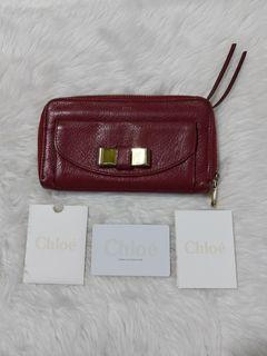 💯% Authentic Chloe Long Wallet
