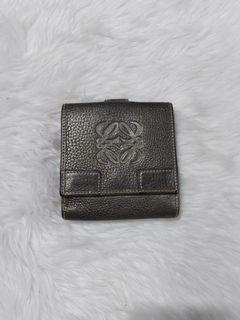 💯% Authentic Loewe Leather Wallet