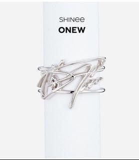 #收 SHINee 溫流 簽名 戒指