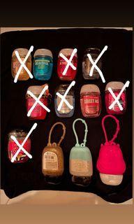 BBW handsanitizer & Pocket bag