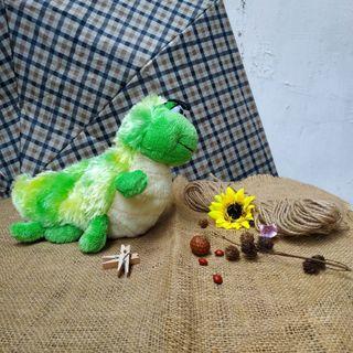 Boneka ulat hijau original ganz