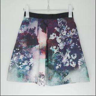 COAST printed round skirt