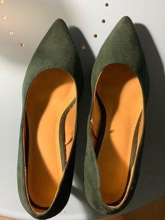 H&M heels green, uk 39 #sepatudicari