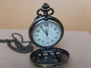 Kalung Vintage Jam Bundar
