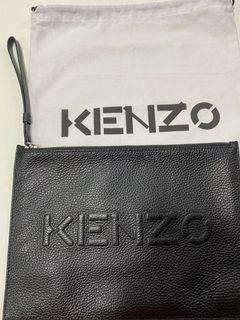 專櫃正品Kenzo經典手拿包全新