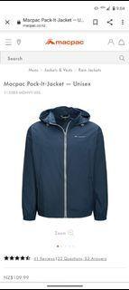 MacPac - Pack-It Rain Jacket