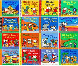Maisy first experiences book story book sticker book
