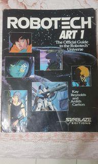 OOP Robotech ArtBook Vol 1.