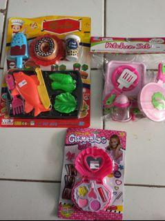 Paket mainan anak 3pcs