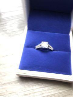 Princess cut lab diamond size us6