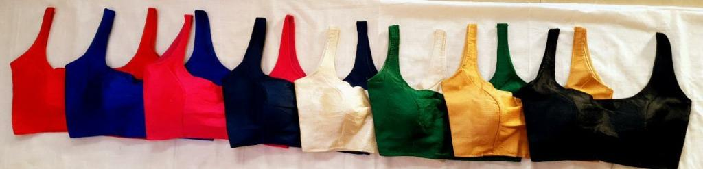 Readymade Silk Blouses @ 36$   BUY 1 GET 1   FAST DELIVERY   Adaa Collections