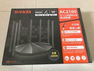 [Tenda]全Giga無線路由器AC23