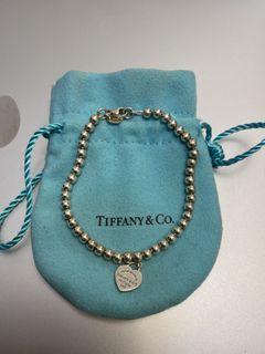 """Tiffany & Co. """"Heart Tag Bead Bracelet"""""""