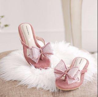 valencia by enrica ella sandals in rose gold