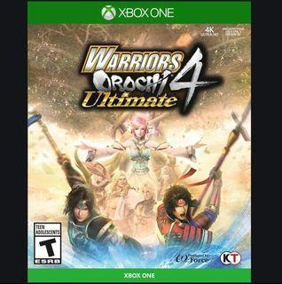 WARRIORS OROCHI 4 Ultimate [Xbox Game]