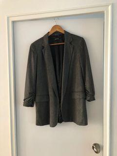 Zara grey blazer, size S
