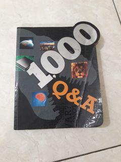1000 Q&A, published by Parragon in 2013