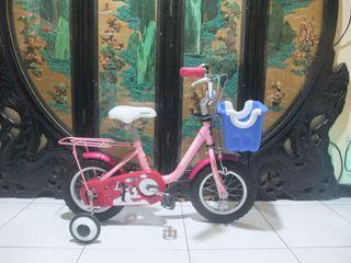 捷安特12吋兒童腳踏車附輔助輪車燈適合身高90-100之間,桃園自取