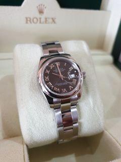 2007 Rolex Datejust 26 ladies