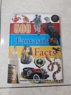 500 Fantastic Facts, published by Sandcastle Books in 2012