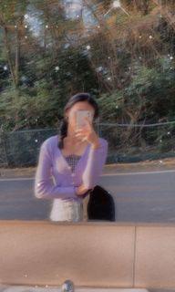 #女裝賣家 紫色薄款針織衫💜✨