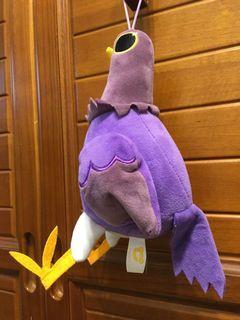 紫色鳥玩偶