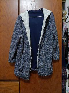 日系毛外套很漂亮