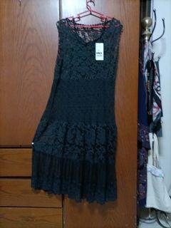 全蕾絲高級洋裝很高雅的氣質