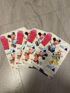日本迪士尼平口紙袋2001
