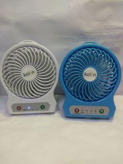 (右邊台已售出)歌林 5吋USB充電小風扇 KF-SH04U1electric fan
