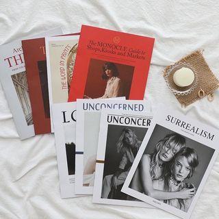 歐美雜誌擺擺飾7件組