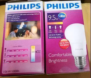 🎉多買多送🎁飛利浦 LED燈膽9.5 w   Philips LED bulb 9.5w