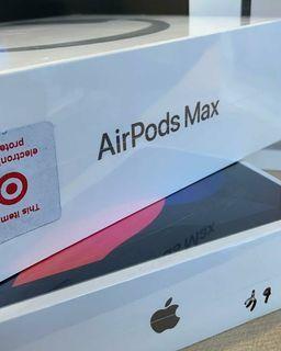 AIRPOD MAX ORIGINAL SEALED BOX