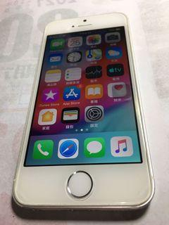 Apple iPhone 5S 銀色 16GB 有盒裝(可議)~