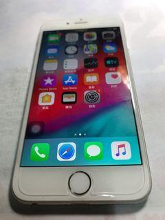 Apple iPhone 6 銀色 64GB 便宜售(可議)~