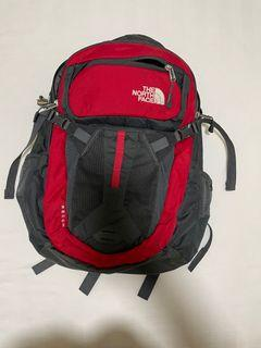Authentic North Face recon back pack