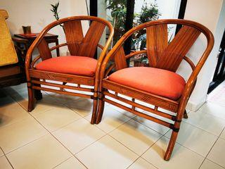 Cane Chairs (set of 2)