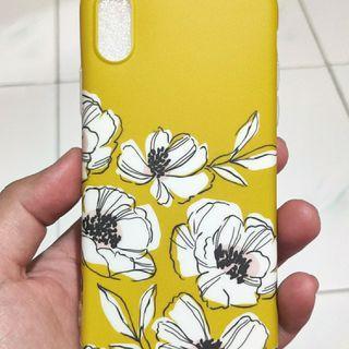Case Flower Yellow Iphone X/XS