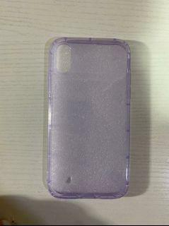 Case Jelly Violet Iphone X/XS