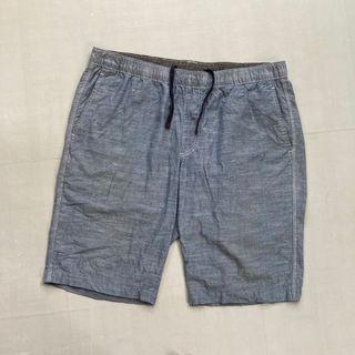 Celana pendek/short pants uniqlo size 36 murah bagus