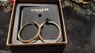 Coach耳環
