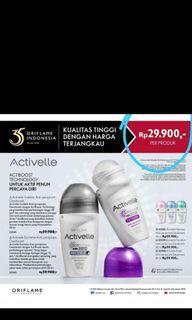 Deodoran tahan hingga 72jam