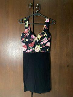 Floral Elegant Mini Dress